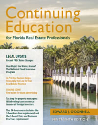 Florida Real Estate Continuing Education Course | Cooke Real