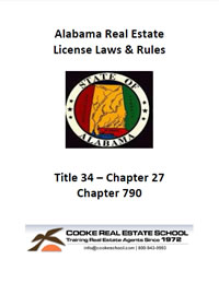 alabama real estate commission license law 23rd