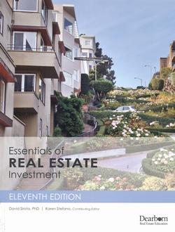 essentials of real estate investment 11th
