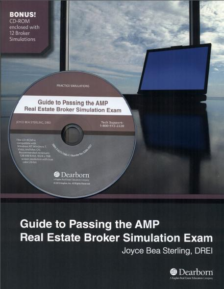 Guide to Passing the AMP Real Estate Broker Simulation Exam