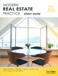 study guide for modern real estate practice 20th