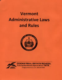 vermont administrative laws and rules