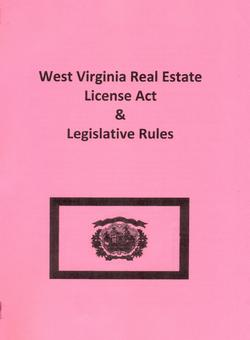 west virginia real estate license act