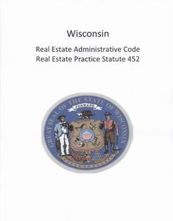 wisconsin real estate administrative code